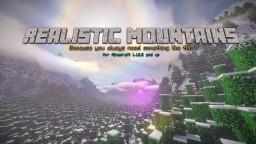[1.10+] Winter Mountain Range (VANILLA/MODDED SURVIVAL) (2048*2048) Minecraft Project