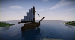 Small Sailing Boat Minecraft Map & Project
