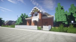 Dutch Colonial Family Home Minecraft Map & Project