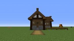 medieval farmhouse starterhouse design Minecraft Project