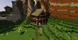 Simple Mountainside Cabin Minecraft Project