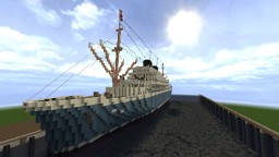 M.S. Willem Ruys - 1950's Passenger Ship [Conquest Reforged] Minecraft Map & Project