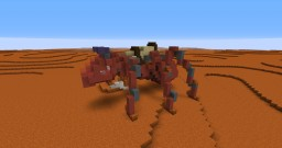 ANT - Mars Exploration Rover Insecta Minecraft Project