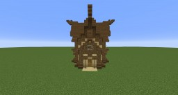 Eastern Cabin Minecraft Map & Project