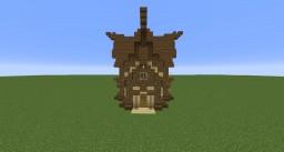Eastern Cabin Minecraft