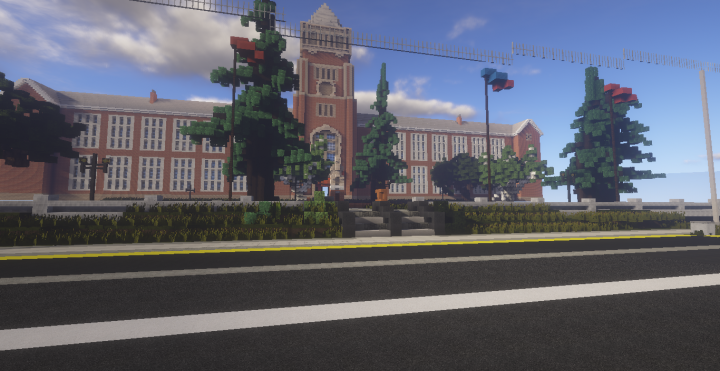 Blackwell Academy Life Is Strange Minecraft Project