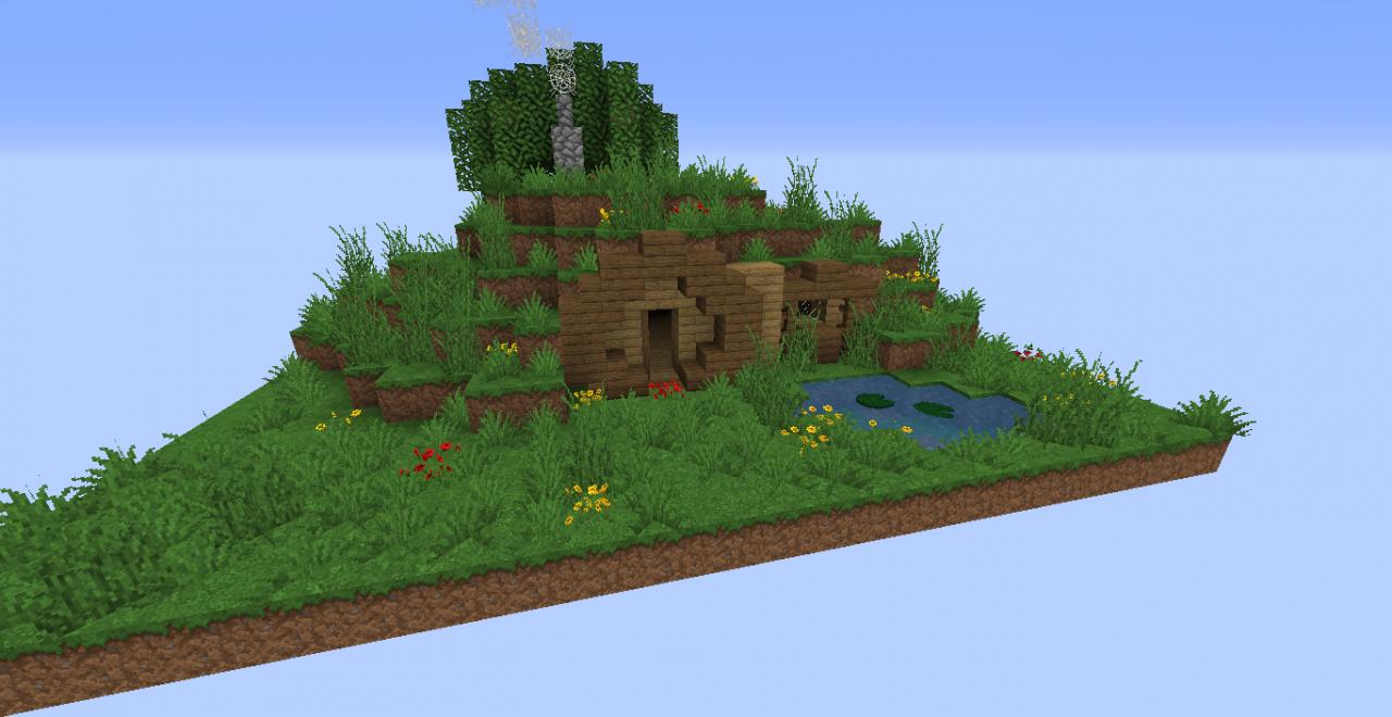Petite Maison De Hobbit Minecraft Project