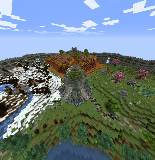 Spawn built by ItzSweetP and PixelClick