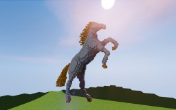 Marble Horse Minecraft Map & Project