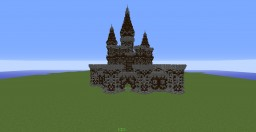 Castle with wall Minecraft Project