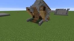 Very, very, VERY smol Medival House Minecraft Map & Project
