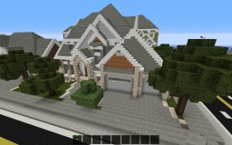 """""""Inspired By"""" House Build 2 Minecraft Map & Project"""