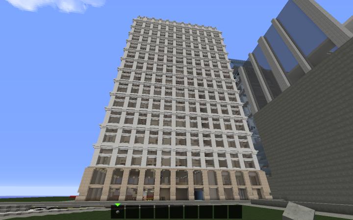 Modular Apartment Building Minecraft Project