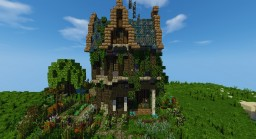 The witch's house Minecraft