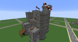 Age of Empires Castle Minecraft Map & Project