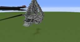 Lambda-Class T-4a Shuttle Minecraft Map & Project