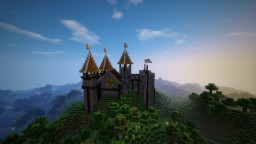 Small castle on a hill !! Minecraft