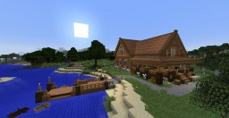 Coast House 2(Lake House) Minecraft Project
