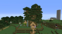 Tree Survival House Minecraft Project