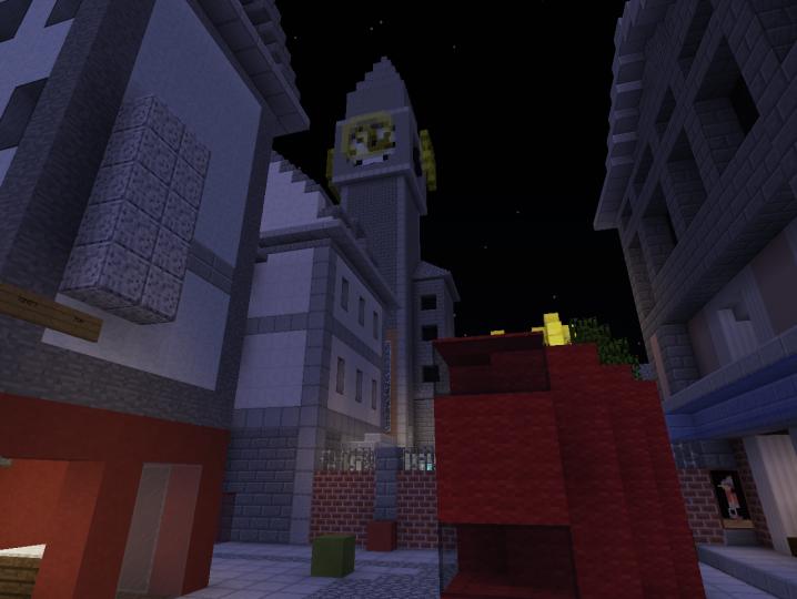 Overwatch King S Row Minecraft Map