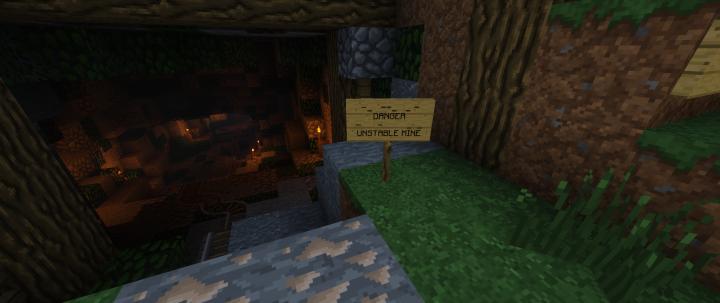 Lost Miners Parkour Quest - Cave