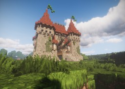 Survival Castle Guide 10+1 Step Minecraft