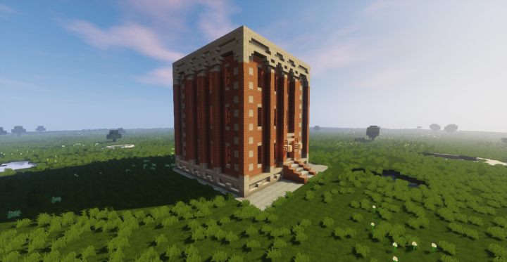 Brick Apartment Building