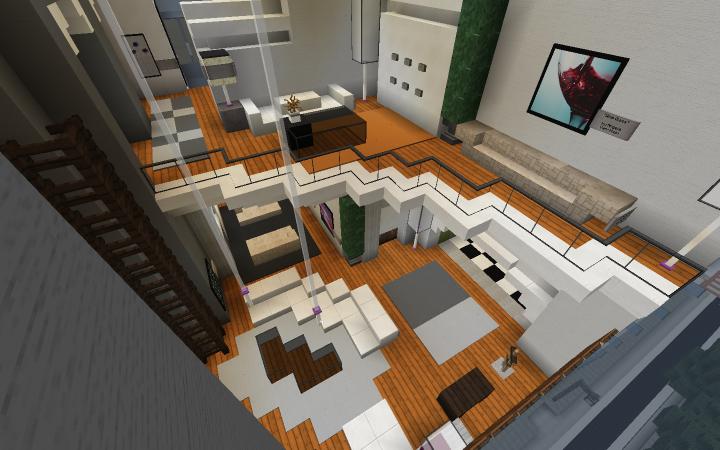 4 Bedroom Apartment Minecraft Project