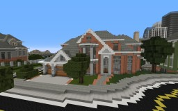Suburban Home Minecraft Map & Project