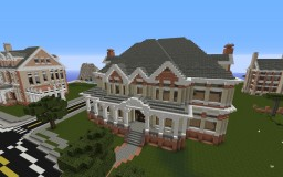 Large Custom Home Minecraft Map & Project