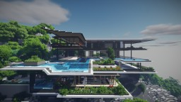 Xalima - Luxury concept house Minecraft Map & Project