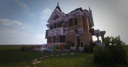 Neo-Gothic House #WeAreConquest Minecraft Map & Project