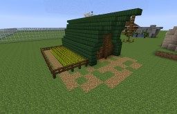Wood-Elven small house Minecraft Map & Project