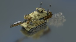 M-109A6 Paladin of the US Army Minecraft Map & Project