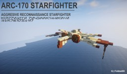 Star Wars Space Ships Minecraft Map & Project