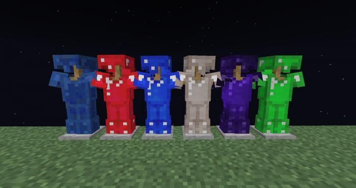 New armors.