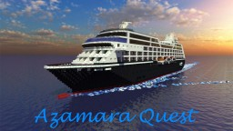 Cruise Ship ~ Azamara Quest [1:1 Scale Replica] [Exterior Only] + Download Minecraft Map & Project