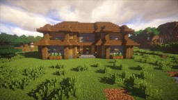 Building Willage - Wooden Houses Minecraft Map & Project
