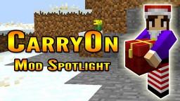 Minecraft CarryOn Mod Spotlight (Carry Blocks in Minecraft!) Minecraft Blog Post