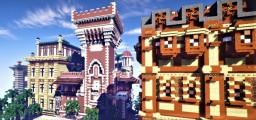 Cova castle Minecraft