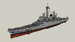 Colbert Anti-Air Missile Cruiser (1969 version) Minecraft Map & Project