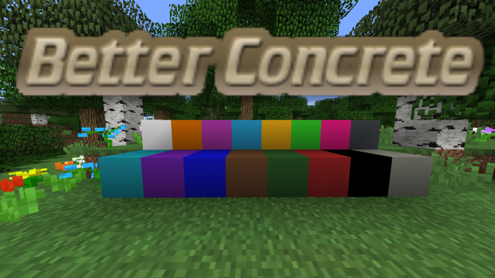 Best Concrete Minecraft Texture Packs Planet Minecraft - Minecraft texture pack namen andern
