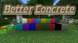 MC 1.12.2 Better Concrete Texture Pack Minecraft Texture Pack