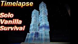 Skyscraper - 100% Solo Vanilla Survival (Hard Mode)【Timelapse】 Minecraft Map & Project