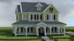 Country House Minecraft Map & Project