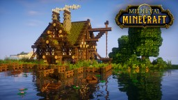 Medieval Fishing Lodge Tutorial Minecraft Map & Project