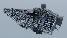 FULGOR-class Pursuit Frigate - Star Wars - Imperial Navy Ship Minecraft