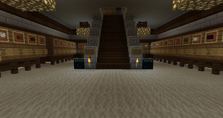 Inside of Shop 6 floors