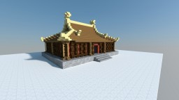 Small Oriental Temple Minecraft Map & Project