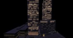 Minecraft World Trade Center 1983 1:1 Minecraft